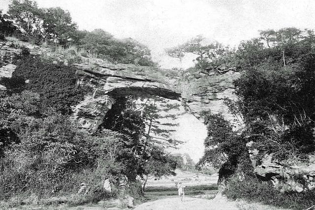 昭和4年(1929年) 神子浜・鬼橋岩